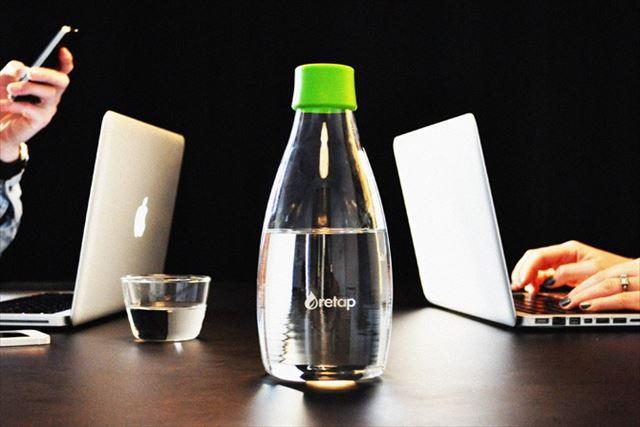 北欧・海外ブランドの水筒【Retap】は衛生的で嬉しい!~オフィスやヨガスタジオで~
