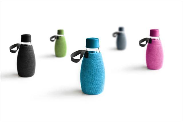 海外ブランドのガラス水筒【Retap】は清潔・丈夫・持ち運びにもおすすめ!